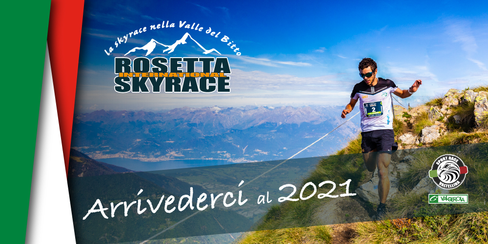 International Rosetta Skyrace Arrivederci al 2021